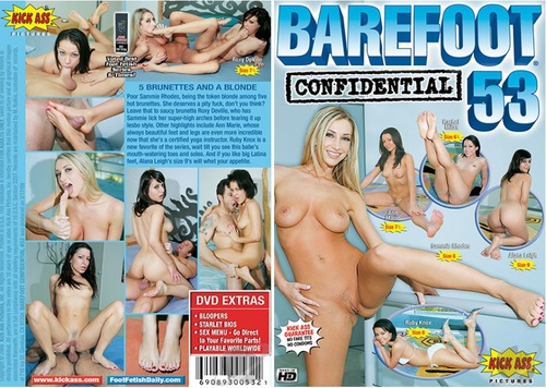 Barefoot Confidential #53 Foot Fetish