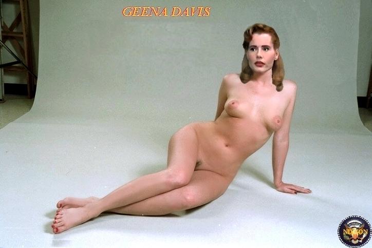 Geena Davis Nude