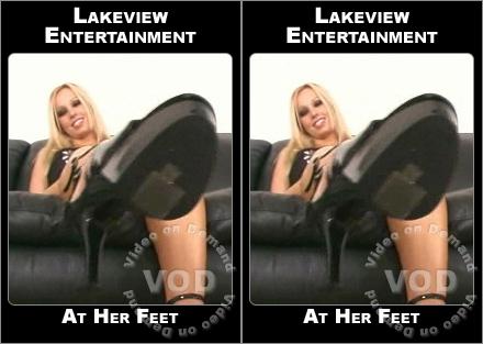At Her Feet  Femdom Foot Fetish