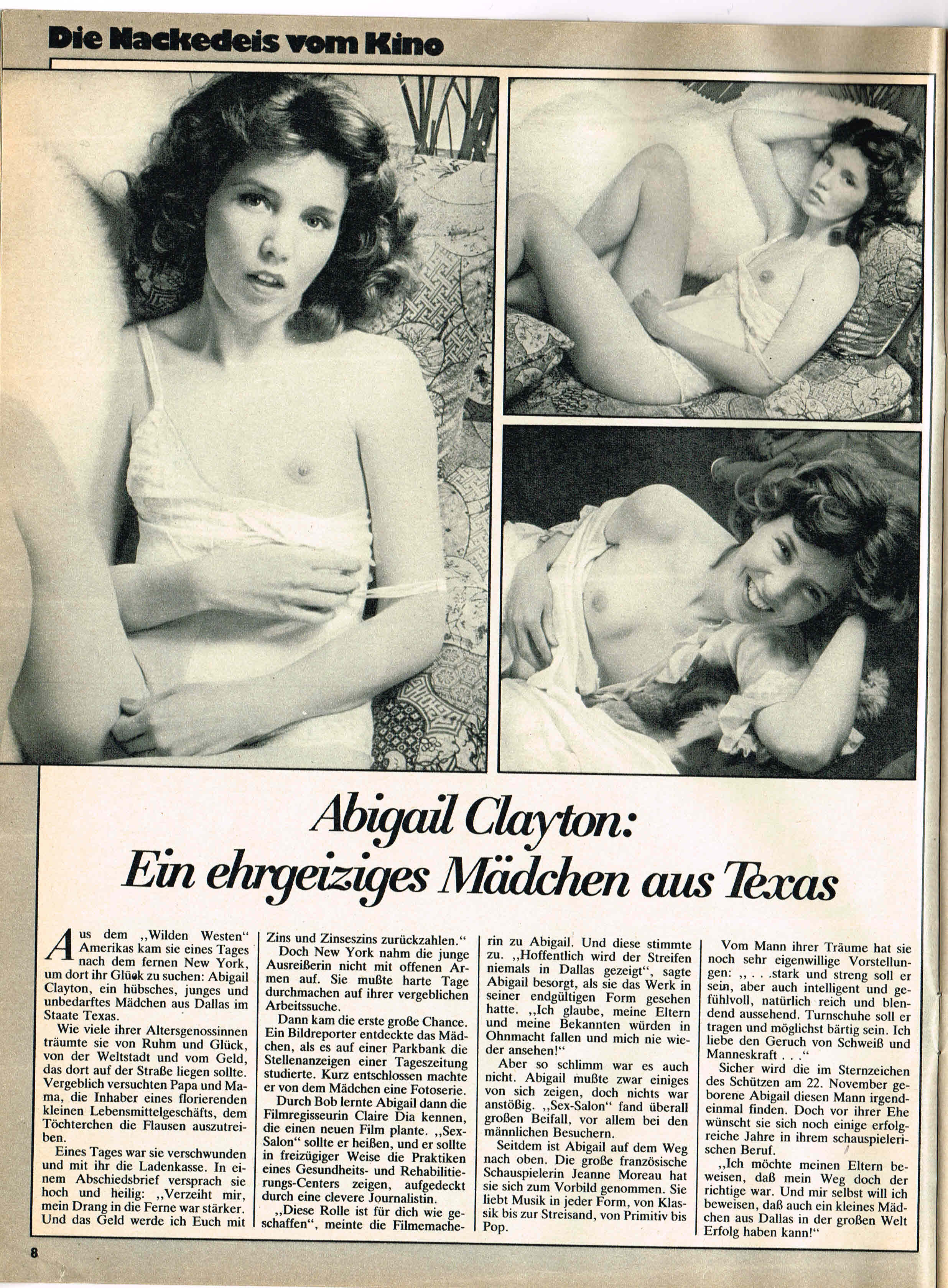 Kay Parker Abigail Clayton Paul Thomas In Classic Porn Picture