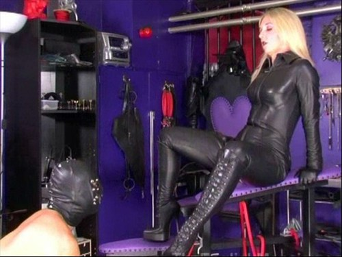 Trained To Fuck Femdom