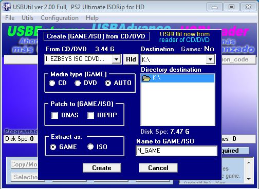 UTIL PS2 USB BAIXAR